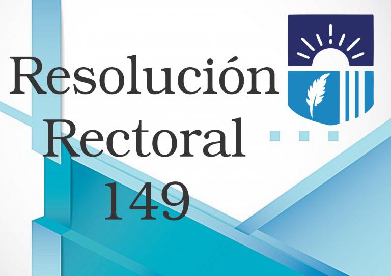 RESOLUCION 149