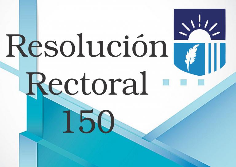 RESOLUCION 150
