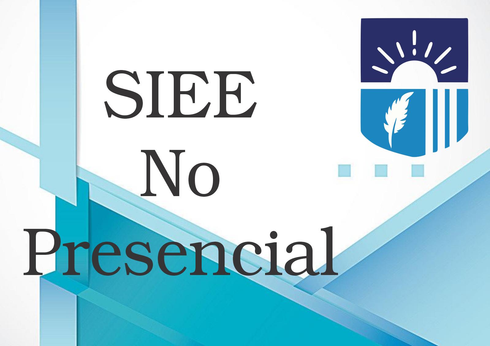 SIEE – NO PRESENCIAL