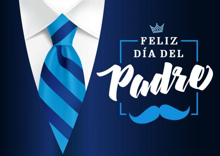 feliz-dia-del-padre-mens-suit-and-blue-tie-vector-30170631