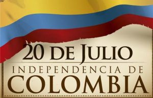 IZADA DE BANDERA – INDEPENDENCIA DE COLOMBIA