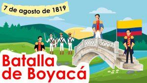 IZADA DE BANDERA – FUNDACIÓN DE BOGOTA & BATALLA DE BOYACÁ